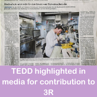 TEDD highlighted in media for contribution to 3R